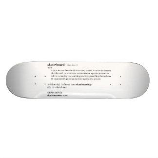 Skateboard Dictionary Definition