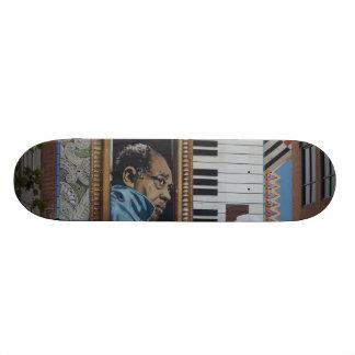 Skateboard, Duke Ellington Wall Mural, DC Skateboard Deck