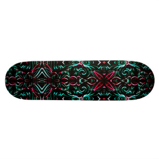 Skateboard Indian Style