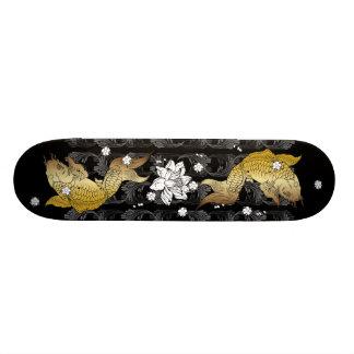 Skateboard Koi gold