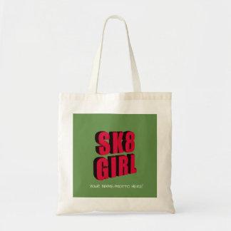 Skateboard Logo Tote Bag