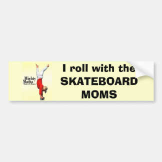 Skateboard Moms Bumper Sticker