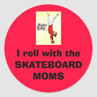 Skateboard Moms Sticker