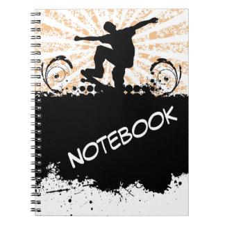 Skateboard Notebook