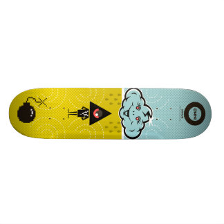 """Skateboard OWNI """"with bomb in the cloud """""""