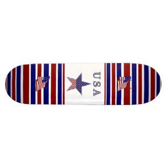 Skateboard Patriotic USA Flag Stars Skate Decks