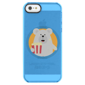 Skateboard Pig with boards Q1Q Clear iPhone SE/5/5s Case