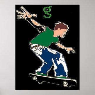Skateboard Poster from I'm G Skateboards