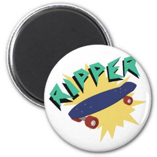Skateboard Ripper 2 Inch Round Magnet