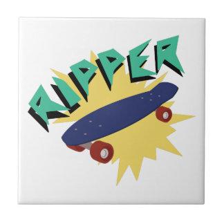 Skateboard Ripper Tile
