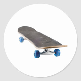 skateboard round sticker
