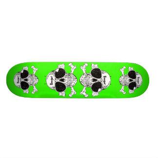Skateboard - Skull Wearing Sunglasses