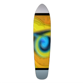 "#Skateboard ""Street Skaten"" yellow orang Skateboards"