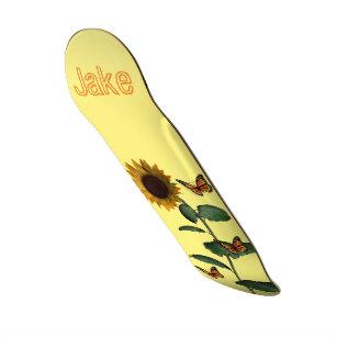 Skateboard Sunflower