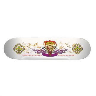Skateboard-The-Joker-set-1-White-with-text Skateboard Old School 21,6 Cm