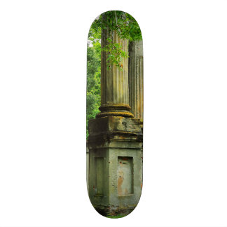 Skateboard with Windsor Ruins columns