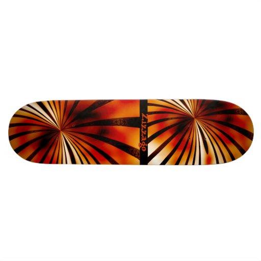 Skateboard Zizzago Blooming Burnt 3 Skateboards