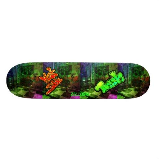 Skateboard Zizzago Urban Trash Westside Skateboard