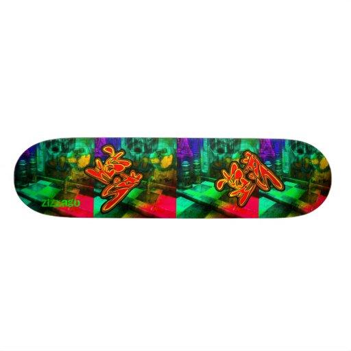 Skateboard Zizzago Urban Westside Custom Skate Board