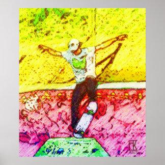 skateboarder 12 poster