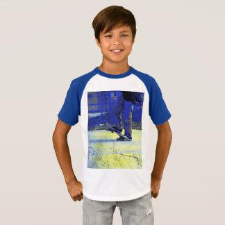 Skateboarder Stance   -  Skateboarding T-Shirt