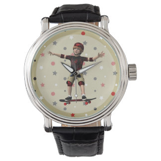 Skateboarder Watch