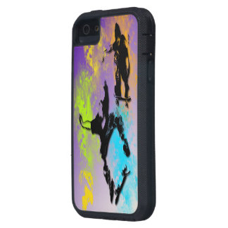 Skateboarders iPhone 5/5S Tough Xtreme Case