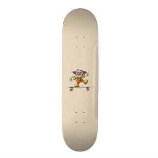 Skateboarding Clown Skateboard
