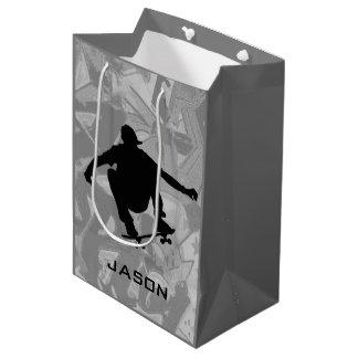 Skateboarding Design Gift Bag
