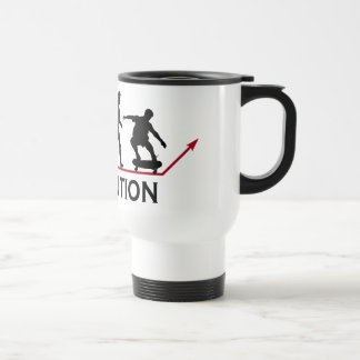 Skateboarding Evolution mug