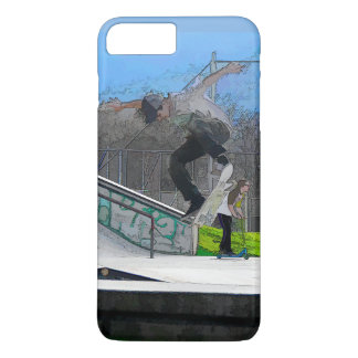 Skateboarding Fool iPhone 8 Plus/7 Plus Case