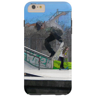 Skateboarding Fool Tough iPhone 6 Plus Case
