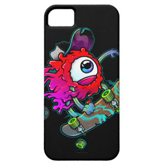 Skateboarding fou d'oeil de nouvelle de dopant coques iPhone 5