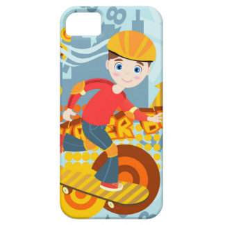 Skateboarding kid party iPhone 5 covers