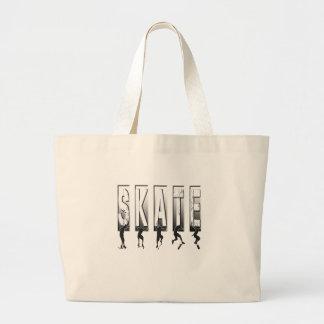 SKATEBOARDING LARGE TOTE BAG