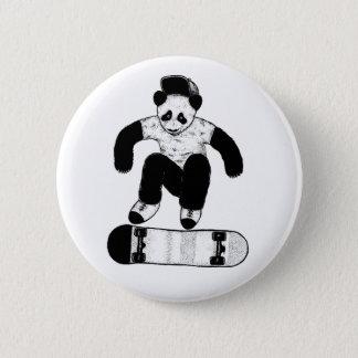 Skateboarding Panda 2 Inch Round Button