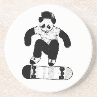 Skateboarding Panda Coaster