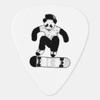 Skateboarding Panda Guitar Pick