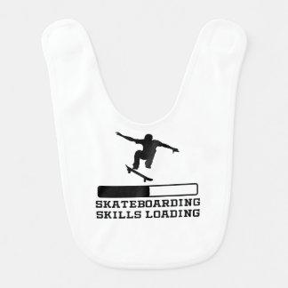 Skateboarding Skills Loading Bibs