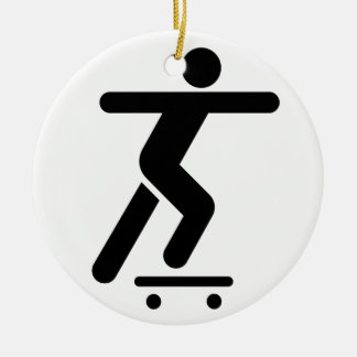 Skateboarding Symbol Ornament