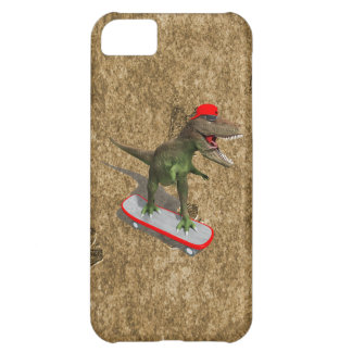 Skateboarding T-Rex iPhone 5C Cases
