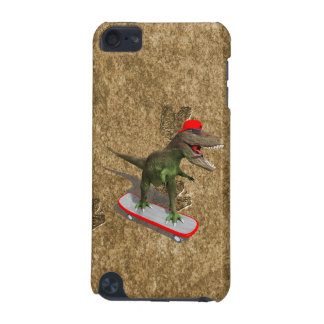 Skateboarding T-Rex iPod Touch (5th Generation) Cover