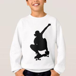Skateboarding Trick Silhouette Sweatshirt