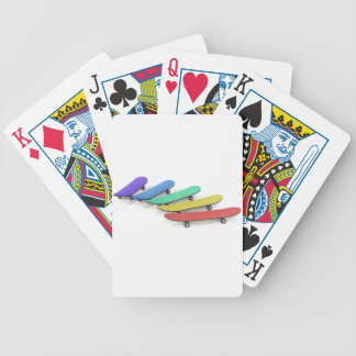 Skateboards Bicycle Playing Cards