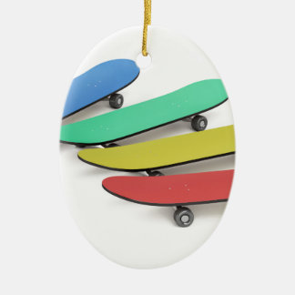 Skateboards Ceramic Ornament