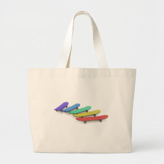 Skateboards Large Tote Bag