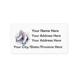 Skater Address Label-Customize It!