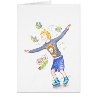 Skater Boy Card