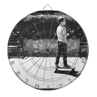 skater boy dartboard