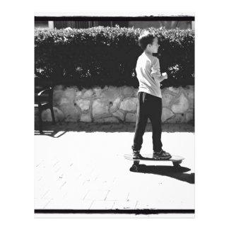 skater boy letterhead